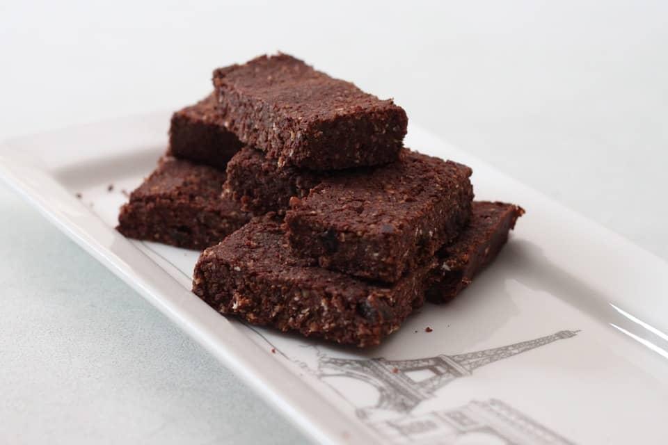 dark chocolate brownie bites shaws simple swaps