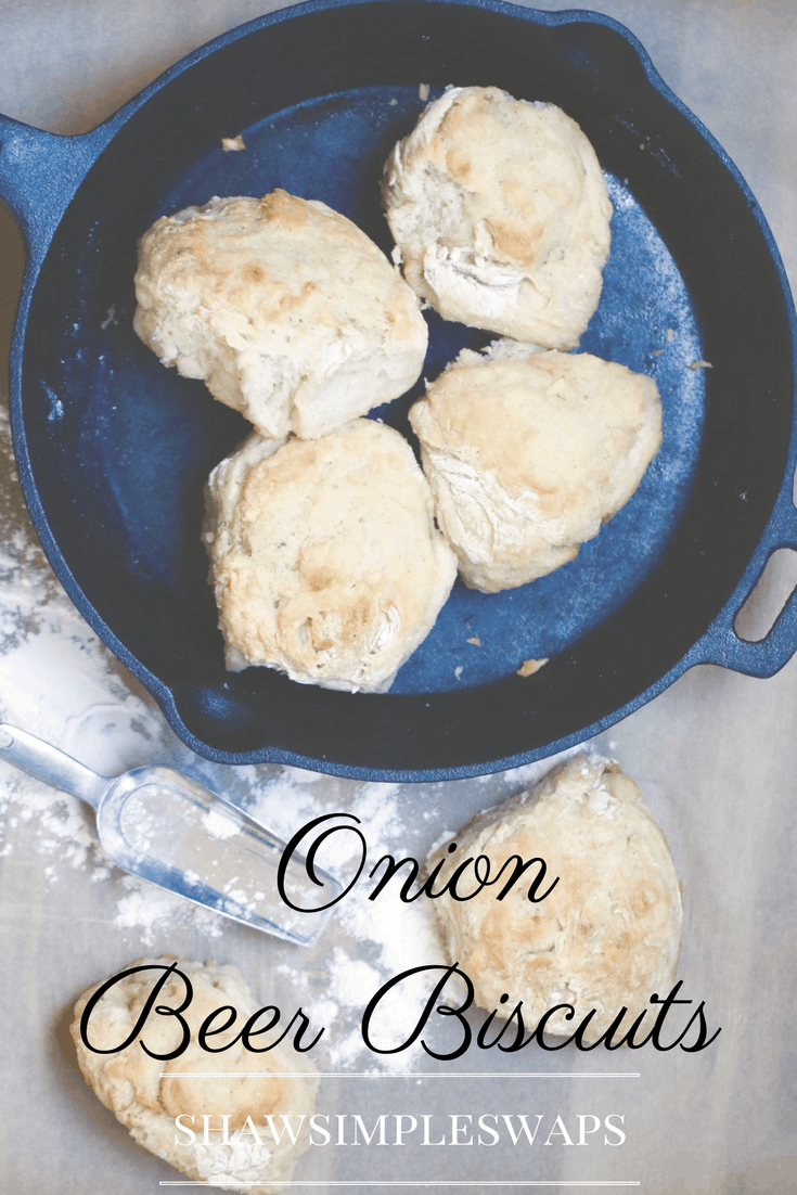 Onion Beer Biscuits @shawsimpleswaps