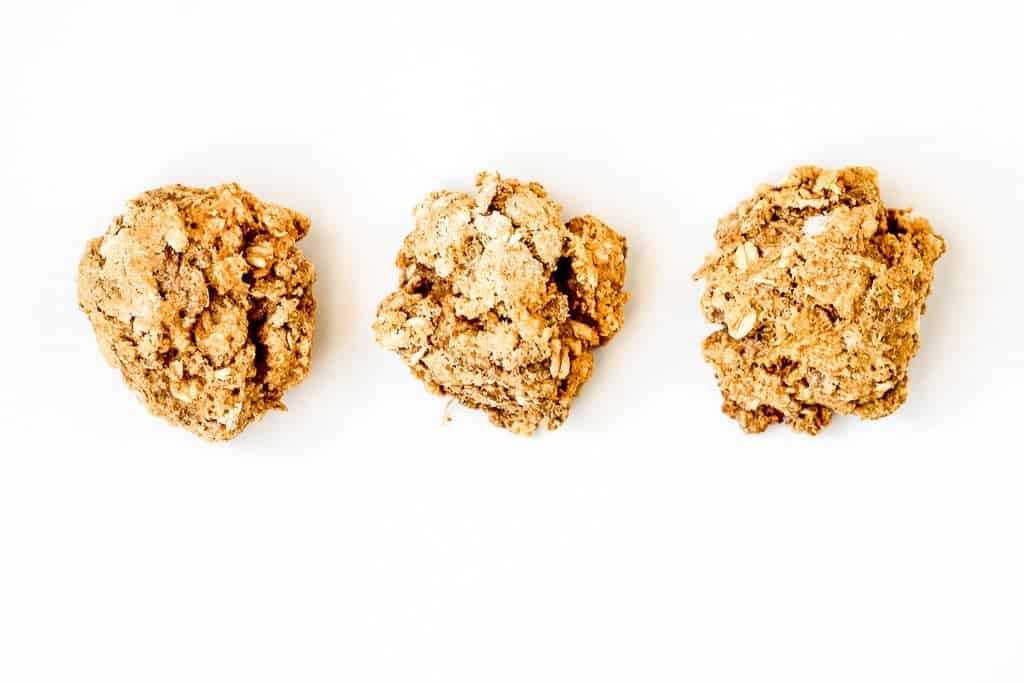 Honey Flax Sweet Potato Cookies - @shawsimpleswaps a healthier alternative to satisfy your sweet tooth for under 100 calories! #cookie #healthycookie