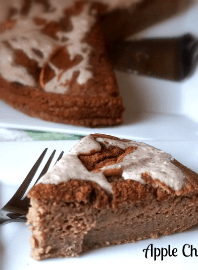 apple chia cake