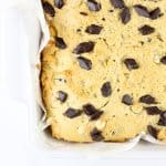 Image of chocolate chip cookie dough bars.