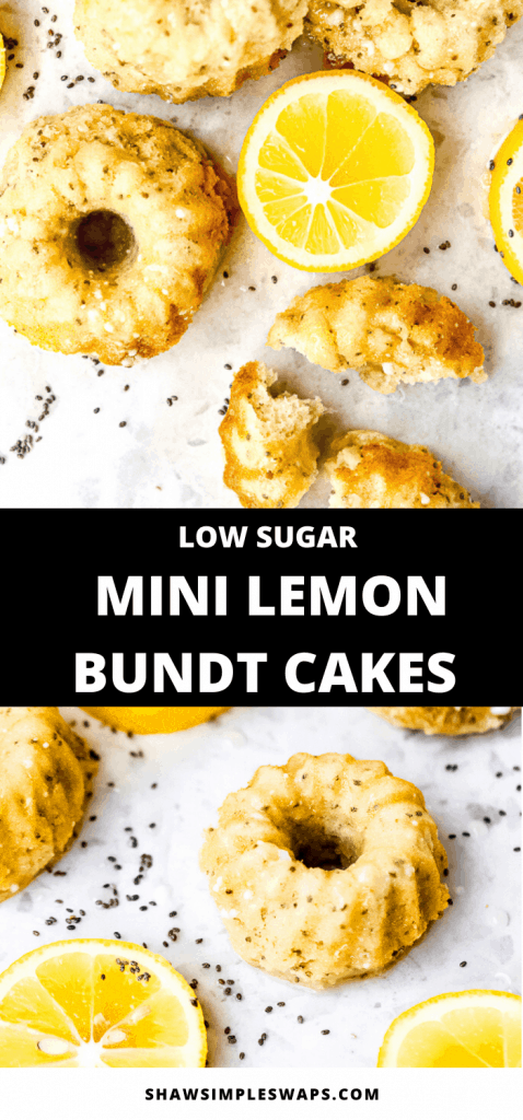 Craving something light and fresh? Then these Mini Lemon Bundt Cakes are just for you! Filled with heart-healthy omegas and just the right amount of sweetness, they'll make you rethink your coffee shop pastries!