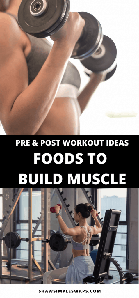 Working out hard but not seeing the results you want? Then you've come to the right place! Read on to find out dietitian recommended Best Snacks for Muscle Gain, as well as what to eat pre and post workout!