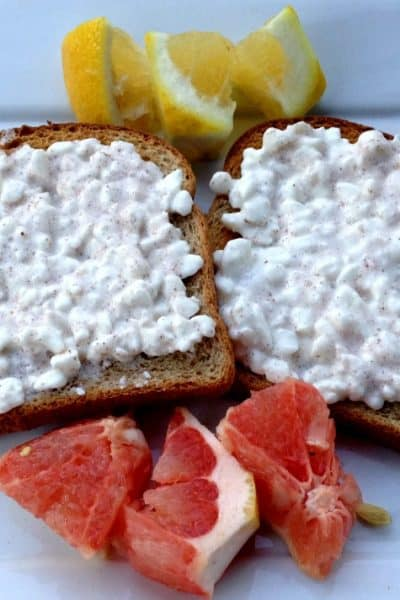 protein packed toast