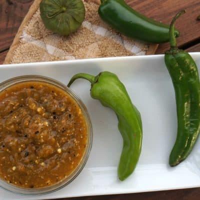 Hatch Chile Salsa Verde