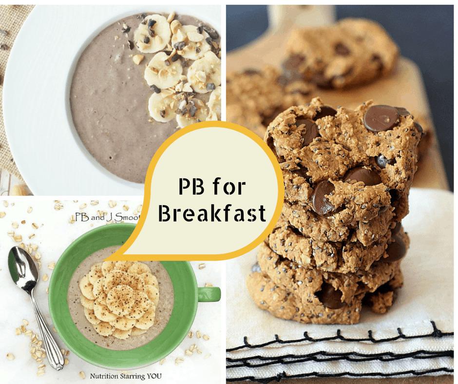 PB Breakfast Recipes