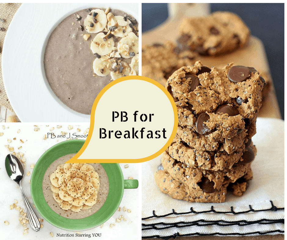 PB Breakfast Recipes