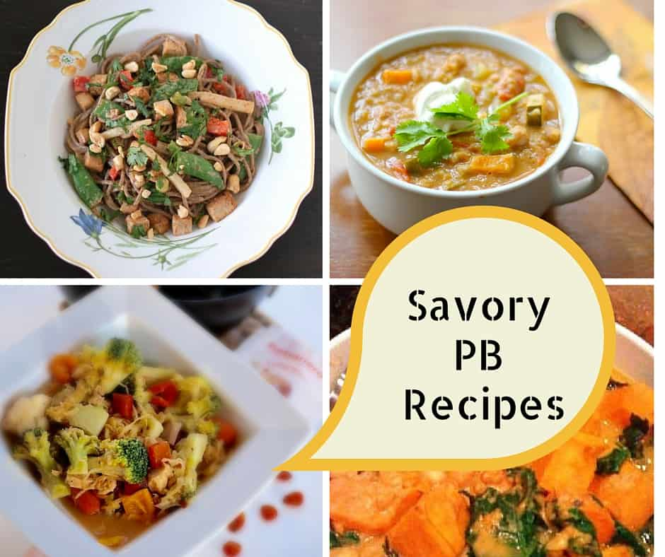 Recipes with PB