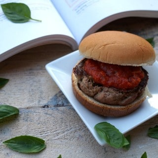 Turkey Parmesan Burgers from The Foodie Physician