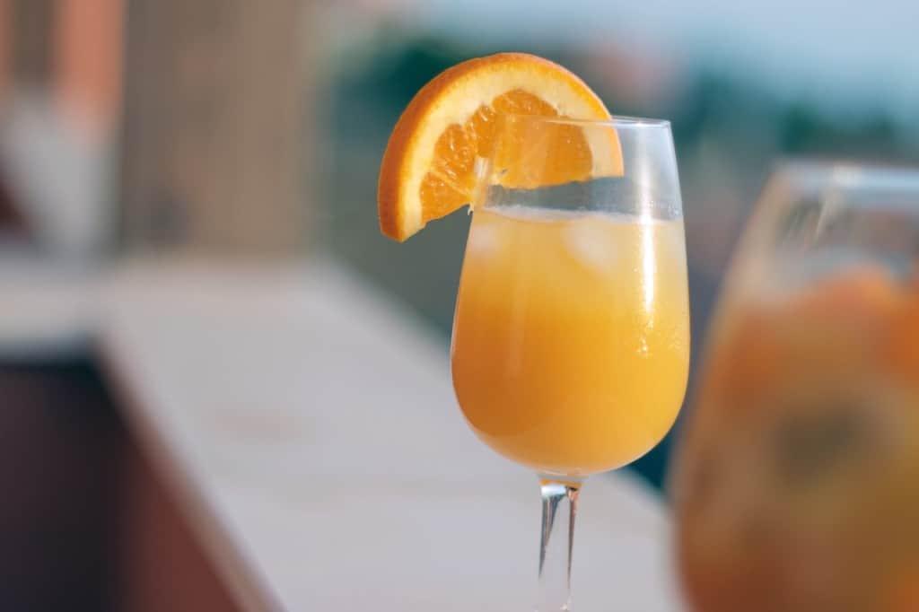 orange raspberry mimoas