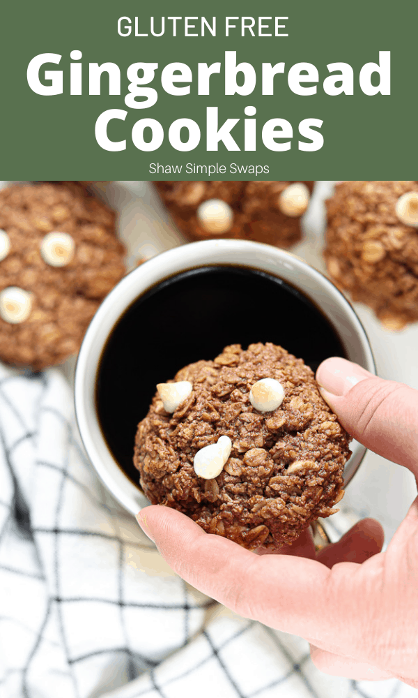 Gluten Free Gingerbread Cookies - Shaw Simple Swaps