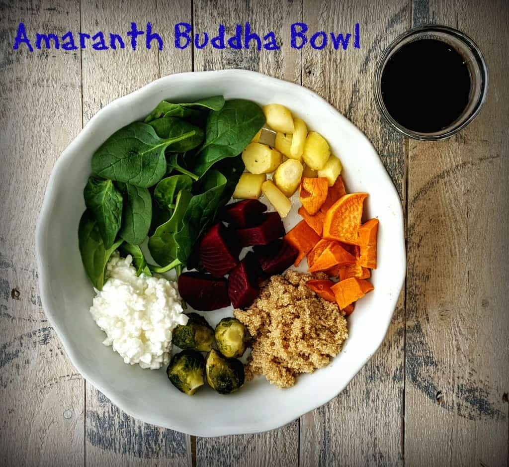 Amaranth Buddha Bowl- Shaw's Simple Swaps 1
