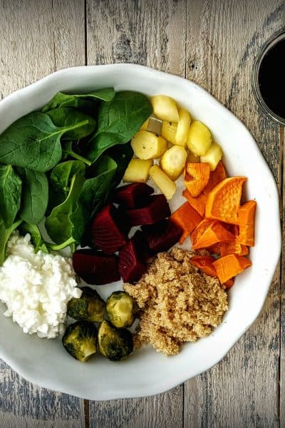 Amaranth Buddha Bowl- Shaw's Simple Swaps