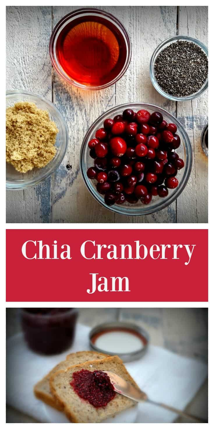 Cranberry Chia Jam from Shaw Simple Swaps