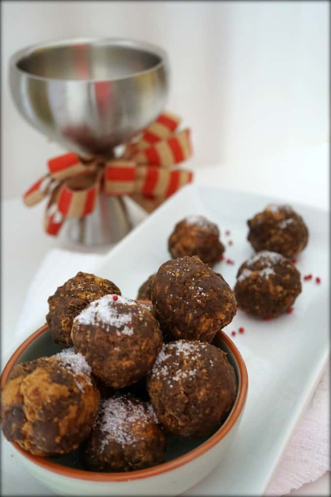 Chocolate PB Truffles Shaw Simple Swaps
