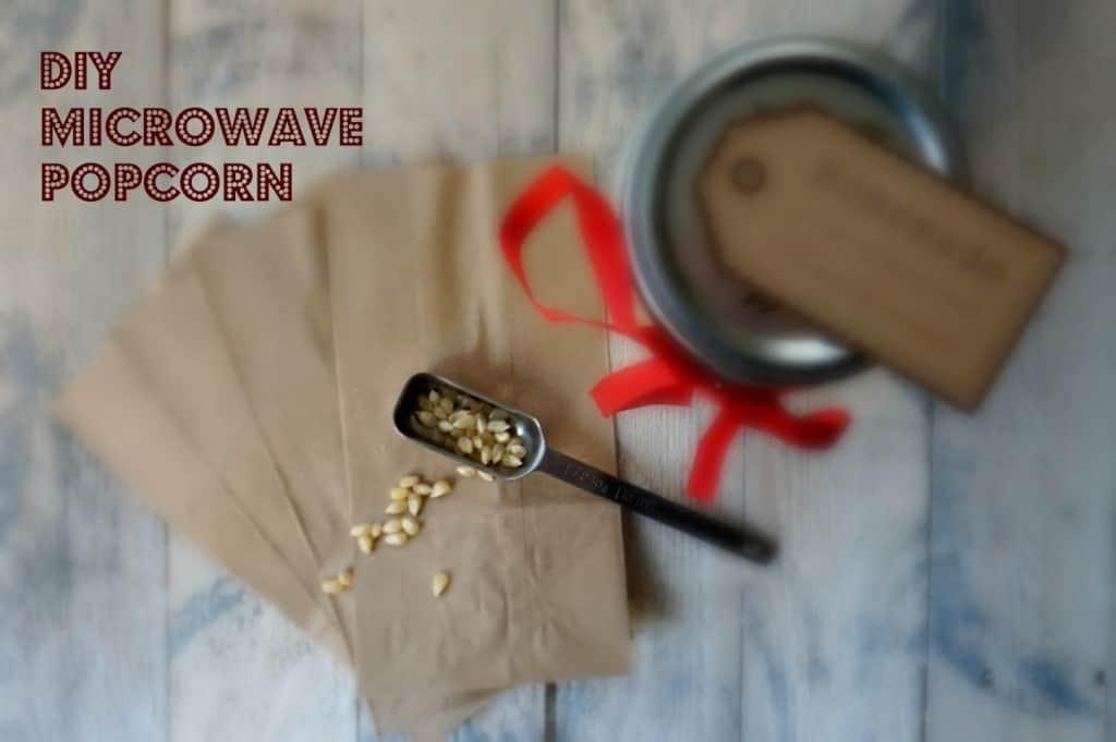 DIY Microwave Popcorn- Shawsimpleswaps.com