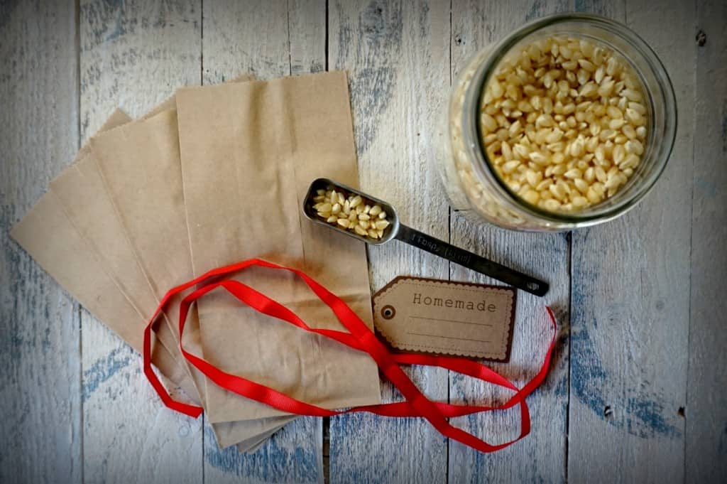 how to make popcorn bags