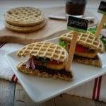 Gardein Chicken and Waffles Sammies- Shaw's Simple Swaps 4