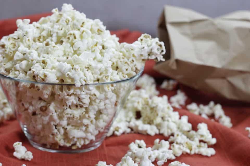 DIY Microwave Popcorn- Shaw's Simple Swaps
