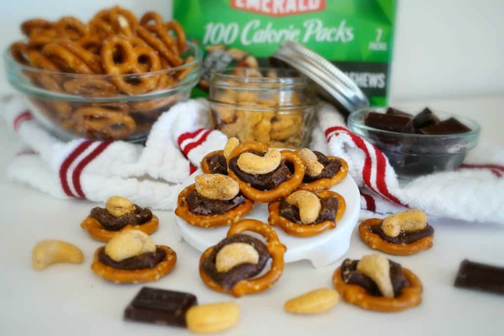 Dark Chocolate Sriracha Turtles - Shaw's Simple Swaps Final