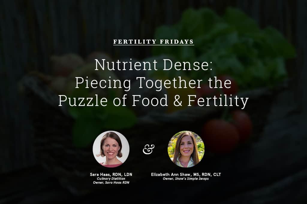 Fertility Friday - Shaws Simple Swaps