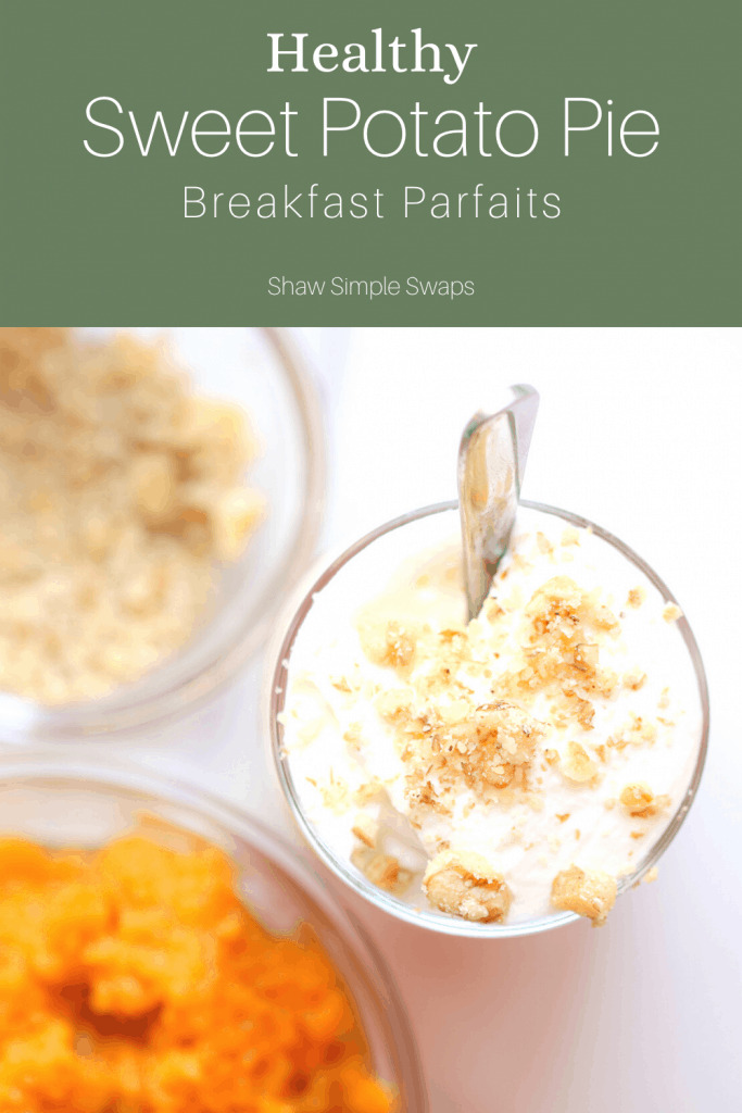 Pinable image of sweet potato breakfast idea.