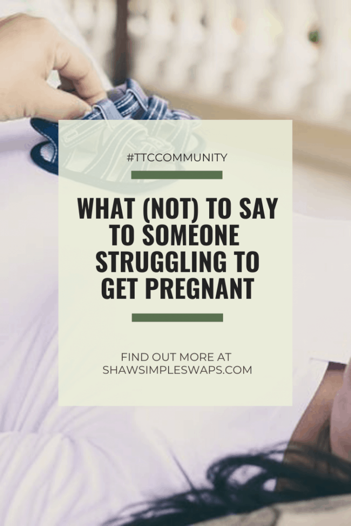 Infertility Etiquette - A guide for loved ones to offer suggestions on what to say and not to say with a friend or family member trying to conceive. #infertilityetiquette #tryingtoconceive #infertility #ttccommunity #whattosay