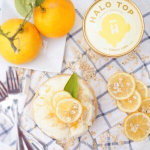 Lemon Bar Ice Cream Cake Shaws SImple Swaps