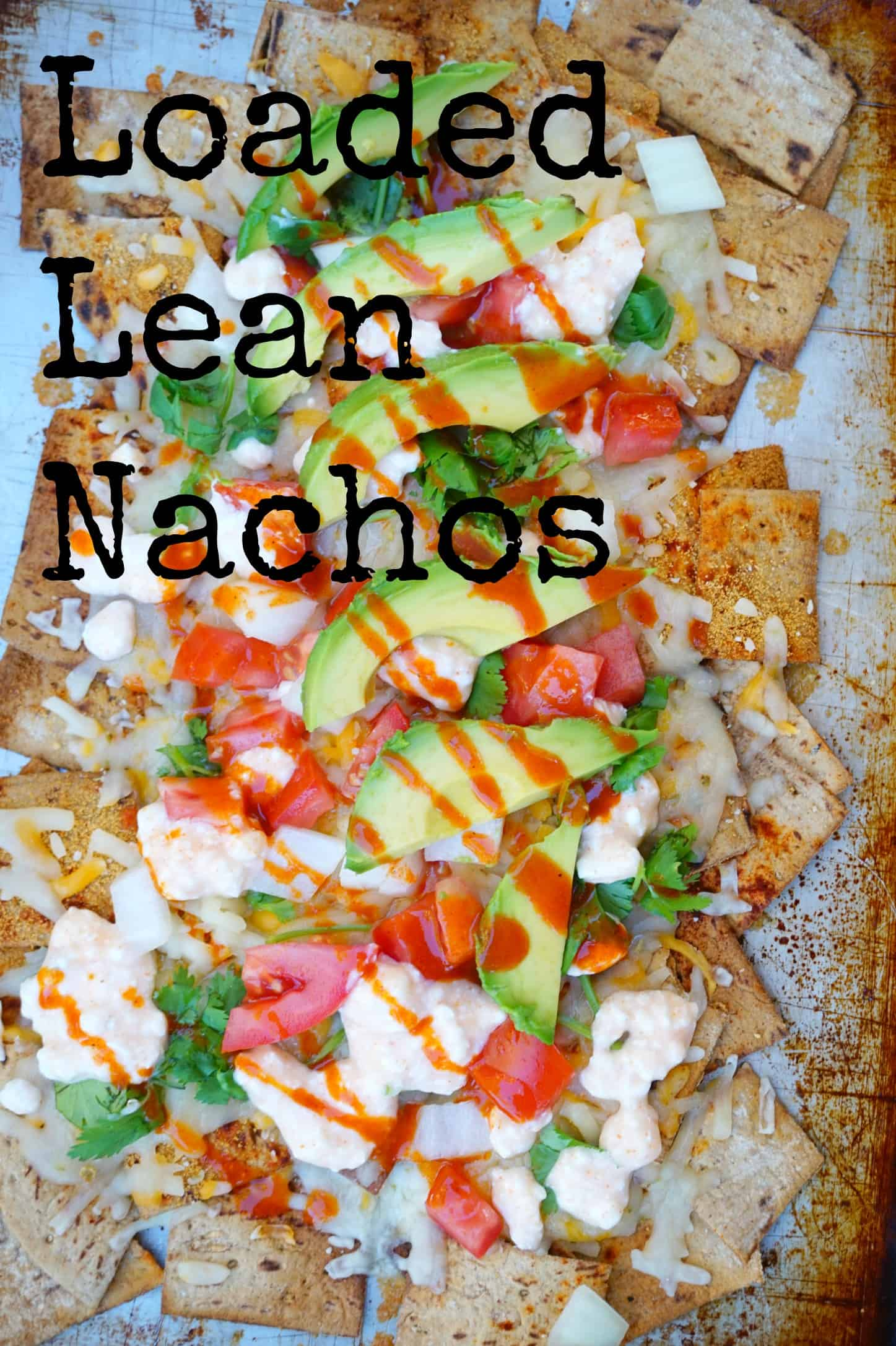 loaded lean nachos - shaws simple swaps