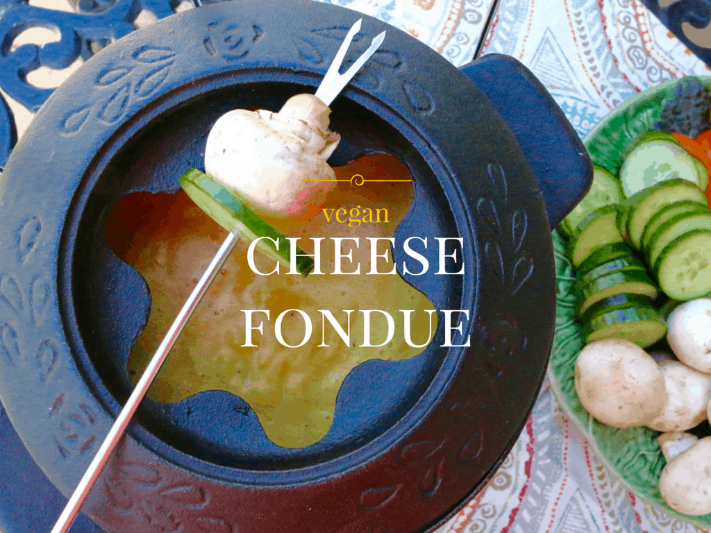 vegan cheese fondue- sharon palmer rdn
