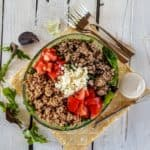 mediterranean buddha bowl- shaws simple swaps