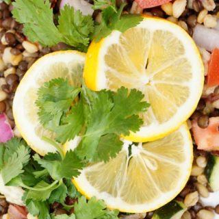 Crisp Lentil Salad + Interview with Jump Jive Kale