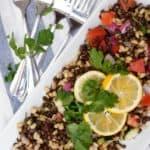 Crisp Lentil Salad- Shaw's Simple Swaps