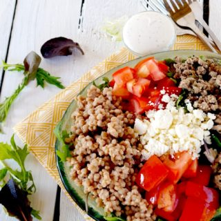Mediterranean Buddha Bowl with Couscous