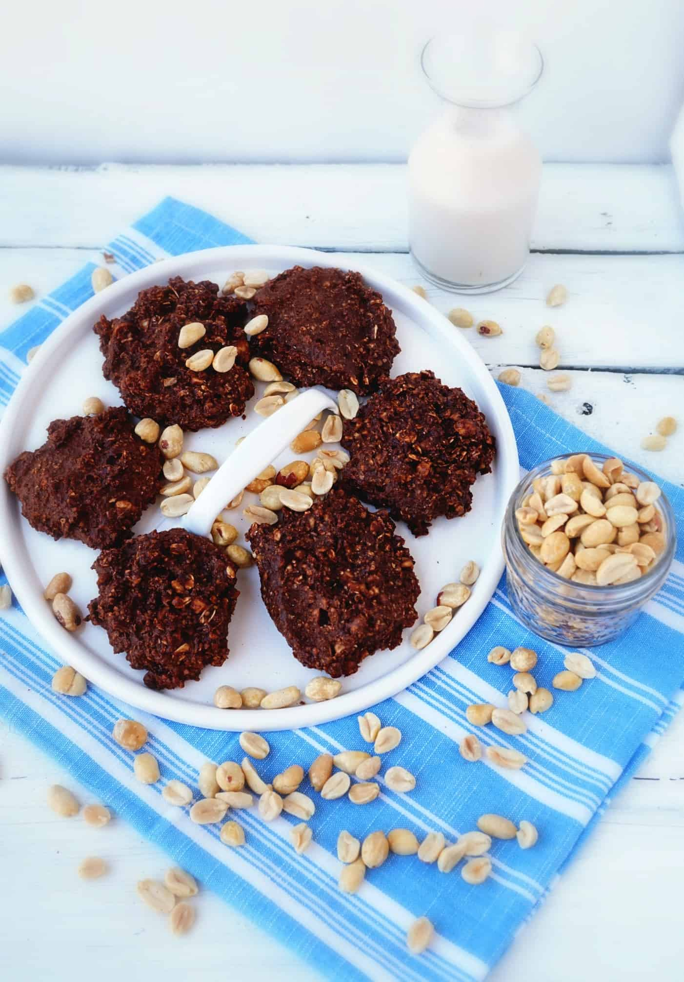 chocolate peanut butter complete cookie - shaw's simpe swaps