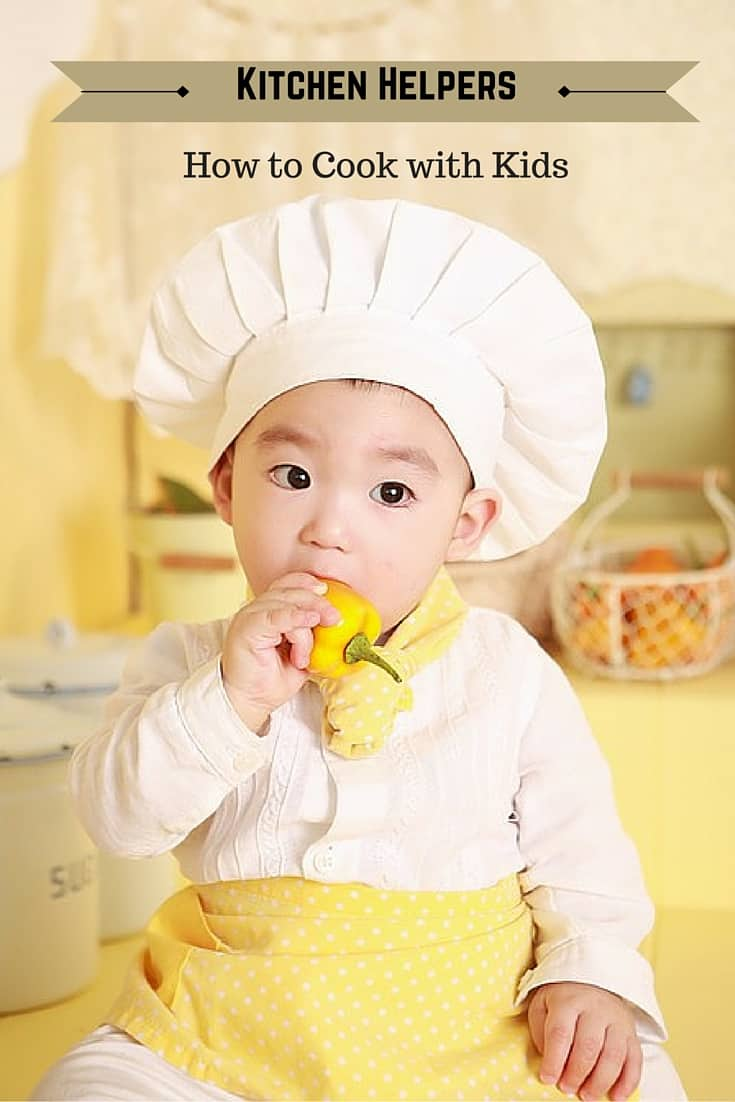 Kitchen Helpers - Cooking with Kids- Shaws Simple Swaps