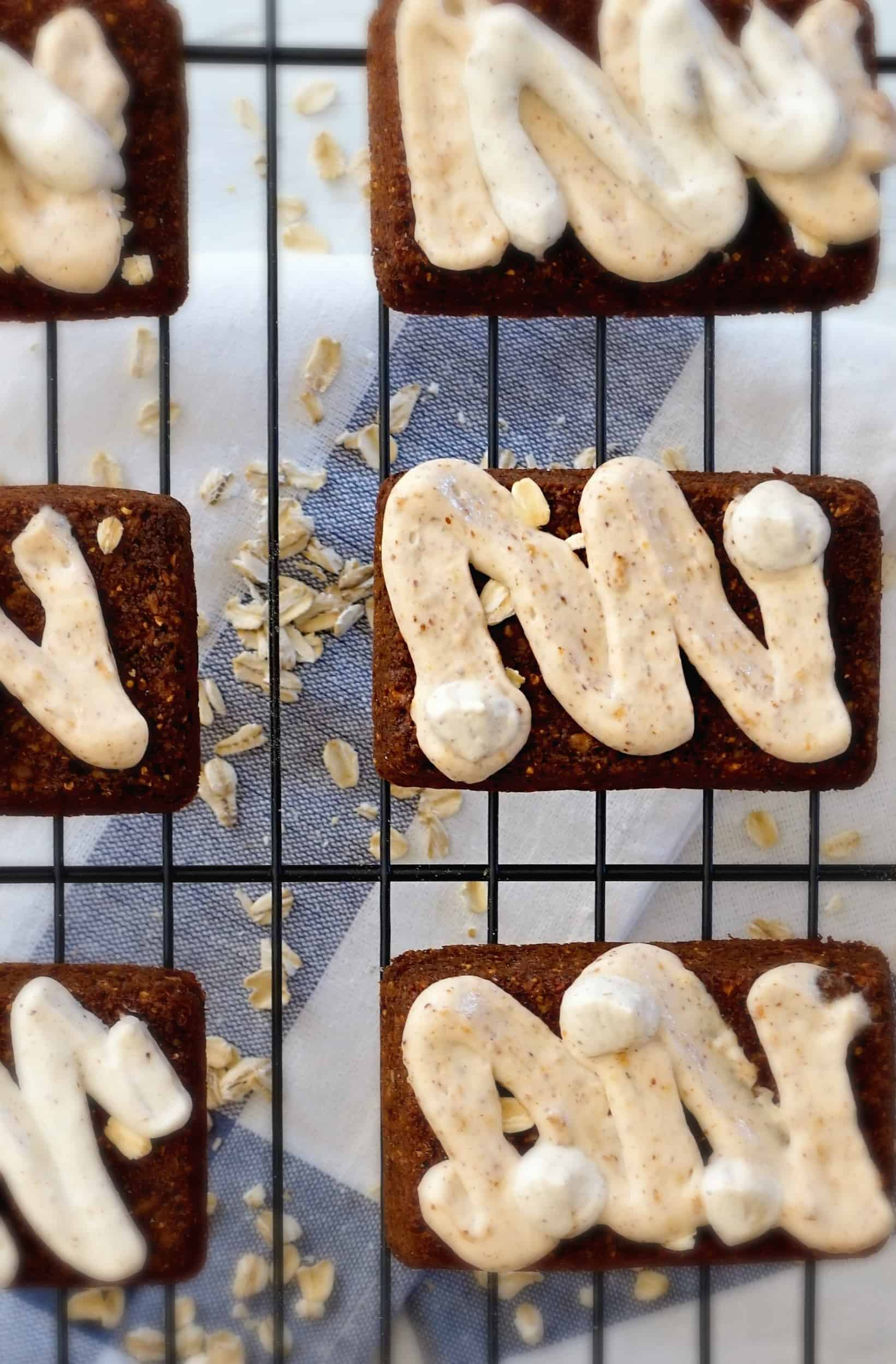 gluten free honey oat cereal bars -shaws simple swaps