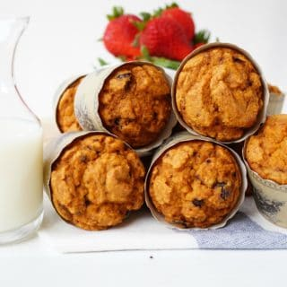 Whole Wheat Chocolate Chip Muffins + Let's Chat!