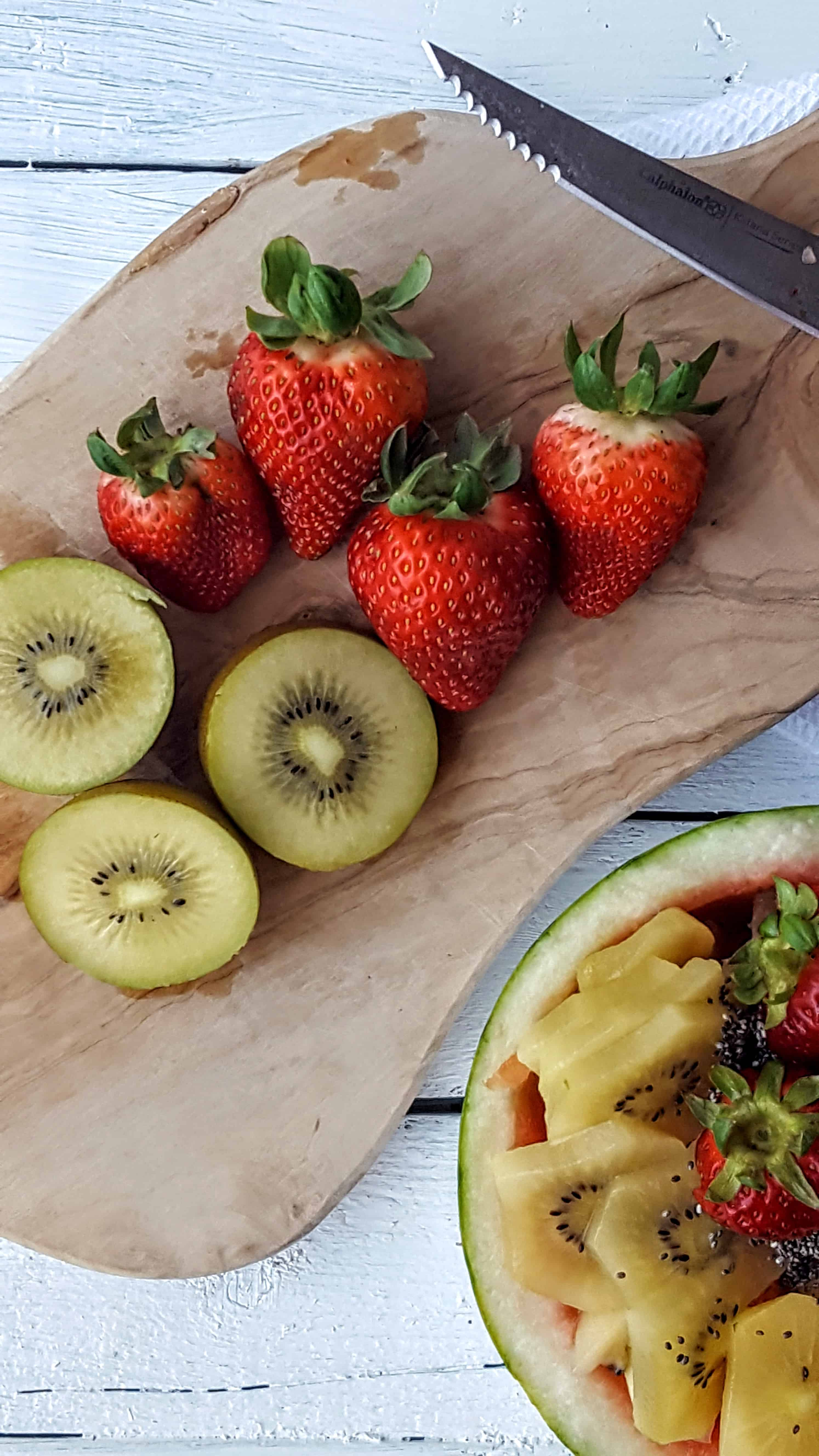 Tropical Fruit Salad= Shaws Simple Swaps