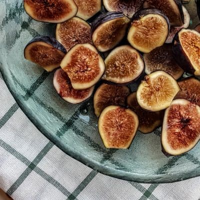 Homemade Fig Jam with Chia Seeds + No Added Sugar