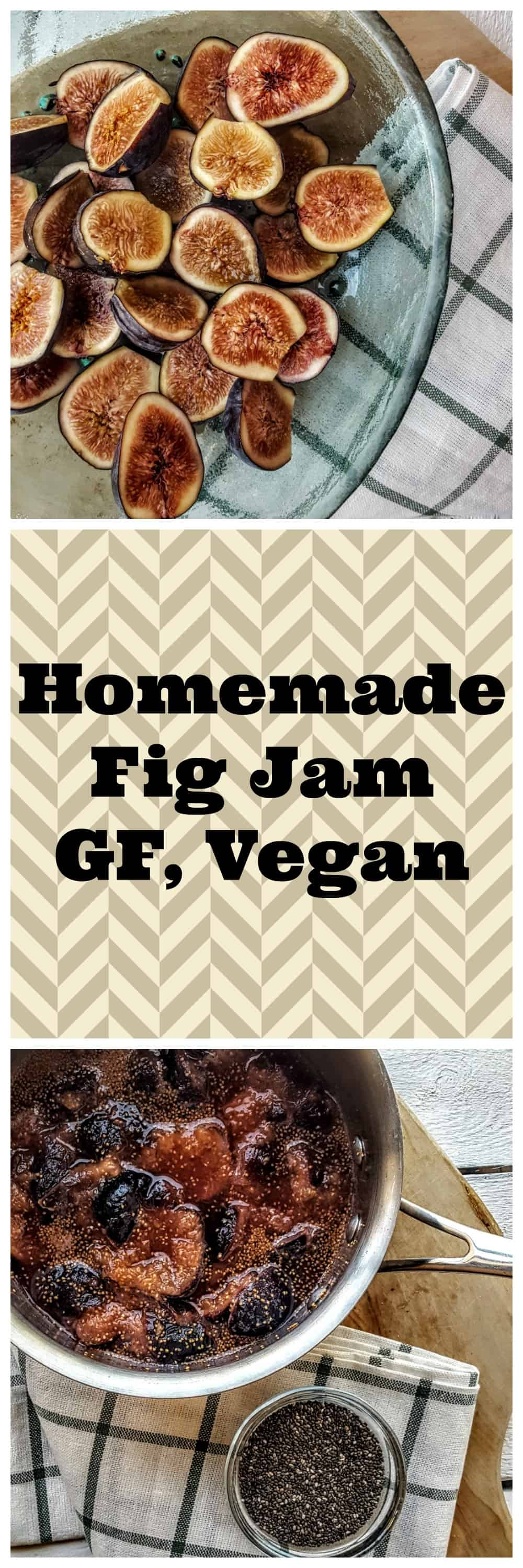 Homemade Fig Jam @shawsimpleswaps Perfect no added sugar, gluten free & 100% vegan option to make the ultimate PB & J!