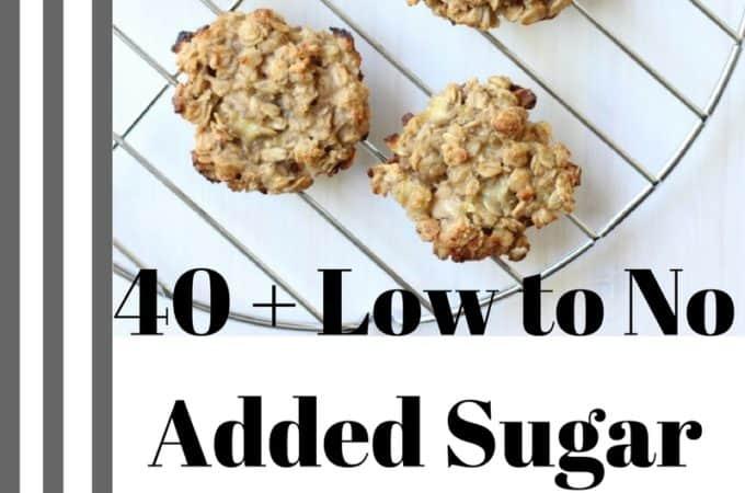 Added Sugar Scoop + 40 Low Sugar Recipes - Shaws Simple Swaps