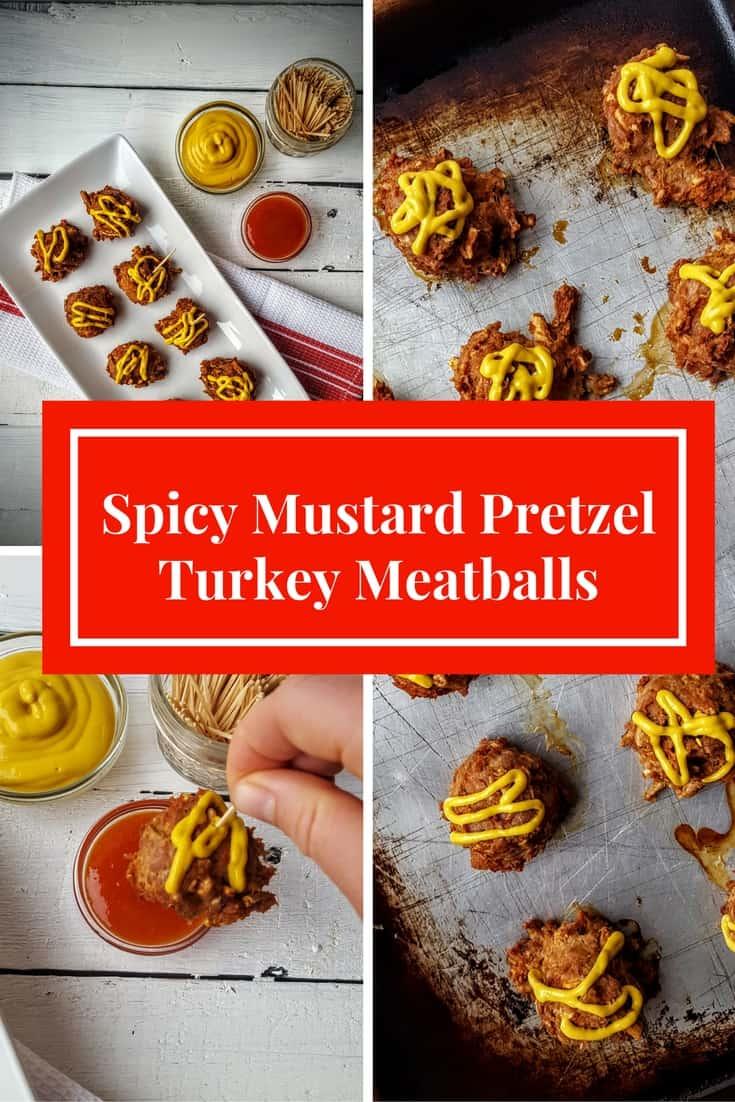 Pretzel Turkey Meatballs- Shaws simple swaps