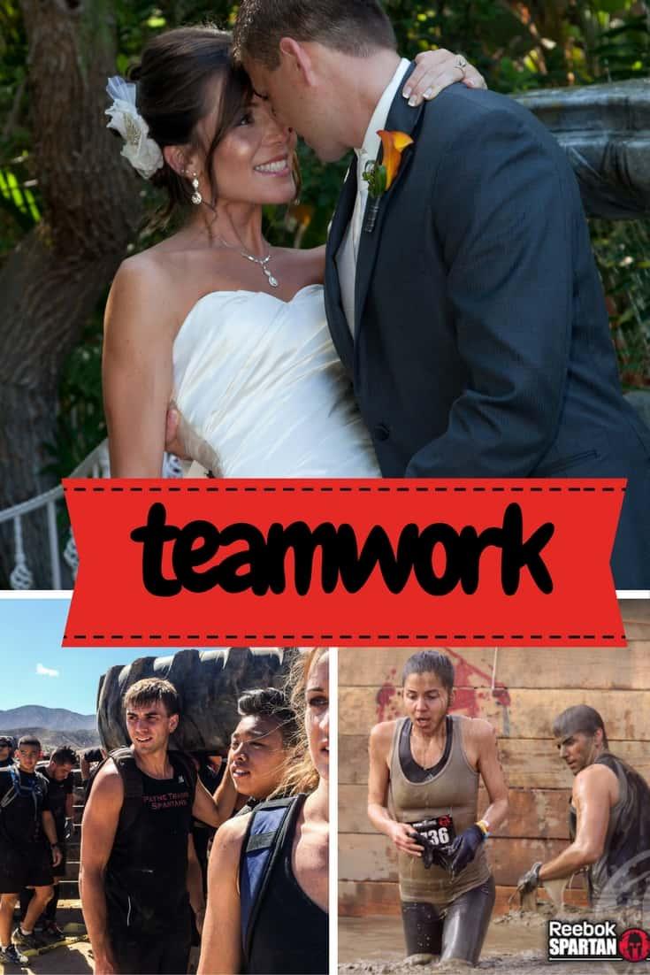 Teamwork- Spartan Hawaii Shaws Simple Swaps