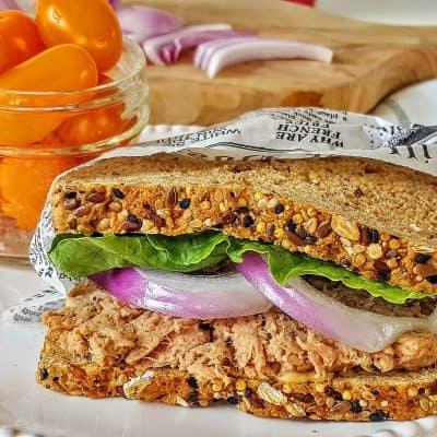 Healthy Tuna Salad & 50+ Mayo Free Sandwich Ideas