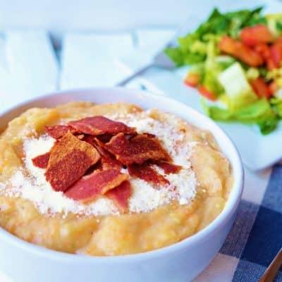 Creamy Potato Soup – Gluten Free + Fiber Filled!