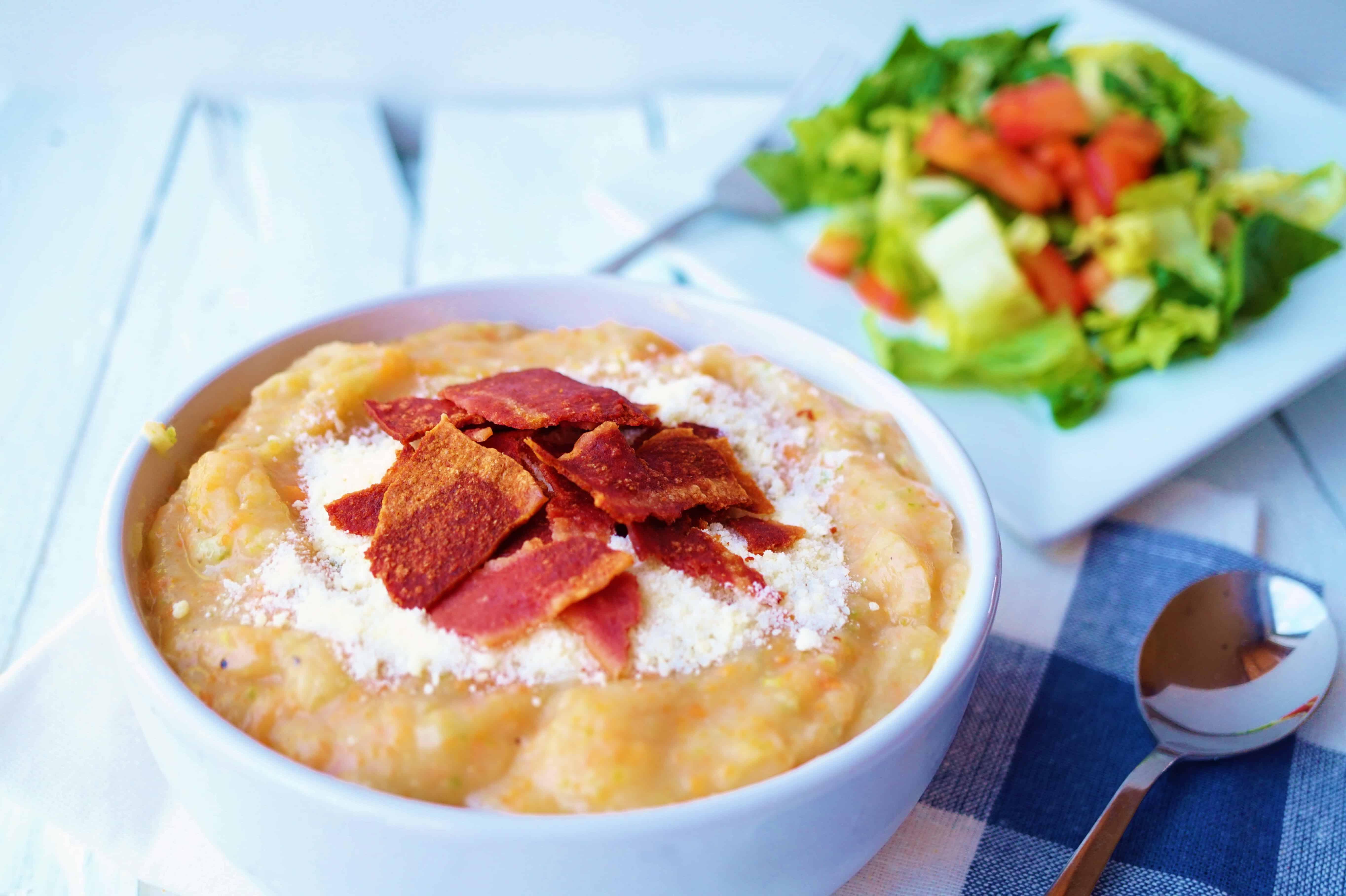 Creamy Potato Soup - @shawsimpleswaps Gluten Free
