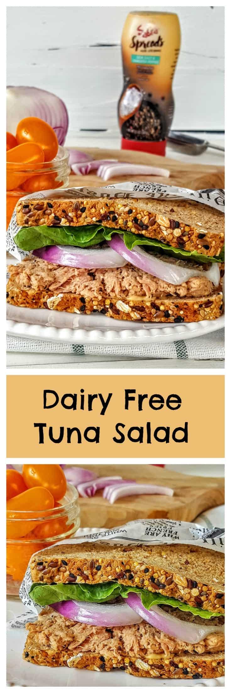 Healthy Tuna Salad @shawsimpleswaps #ad #sabraspreads