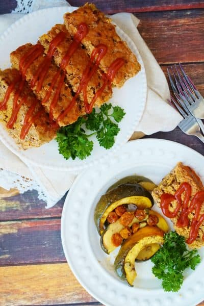 Gluten Free Turkey Meatloaf with Red Rice & A Review of Whole Cooking & Nutrition Cookbook- @shawsimpleswaps