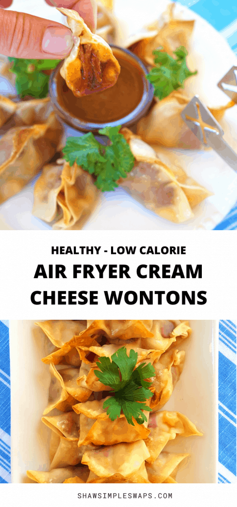 Air Fryer Wontons with Cream Cheese
